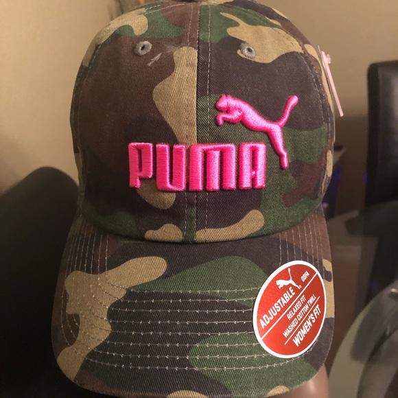 9e1c7f0b3af Ladies Puma Camo Cap